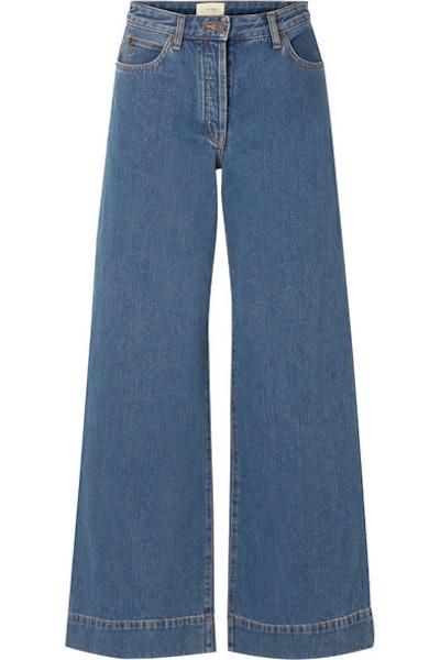 Anat High-Rise Wide-Leg Jeans