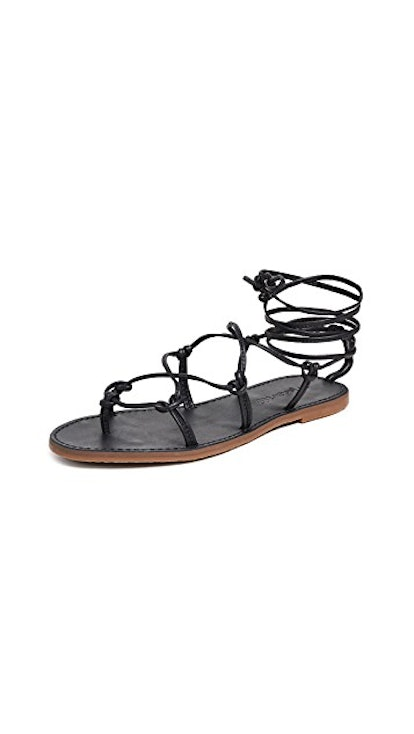 The Boardwalk Lace Up Sandals