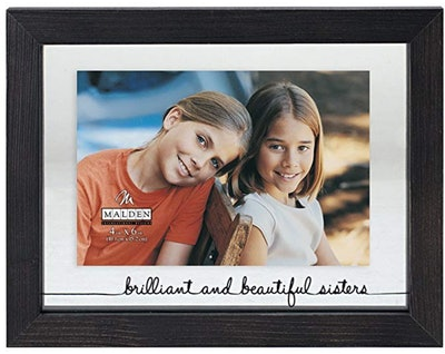 Brilliant and Beautiful Sisters Matted Picture Frame