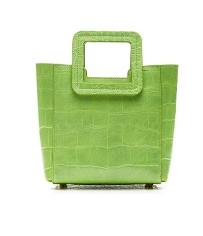 Shirley Mini Croc-Effect Leather Tote