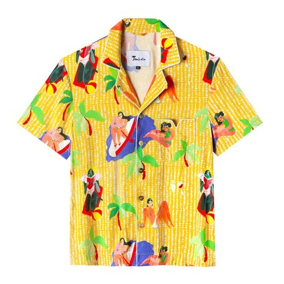 Ana Leovy x Tombolo Yellow Shirt