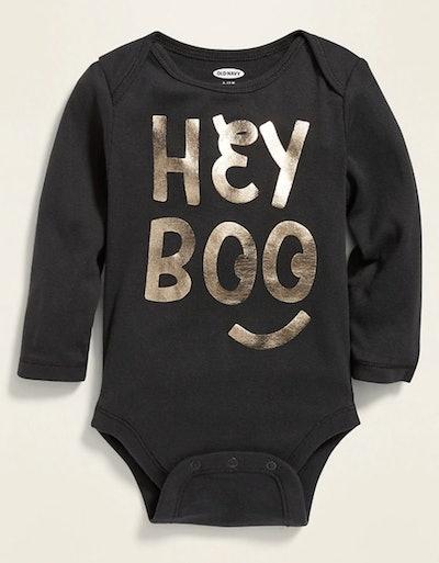 """Hey Boo"" Bodysuit for Baby"