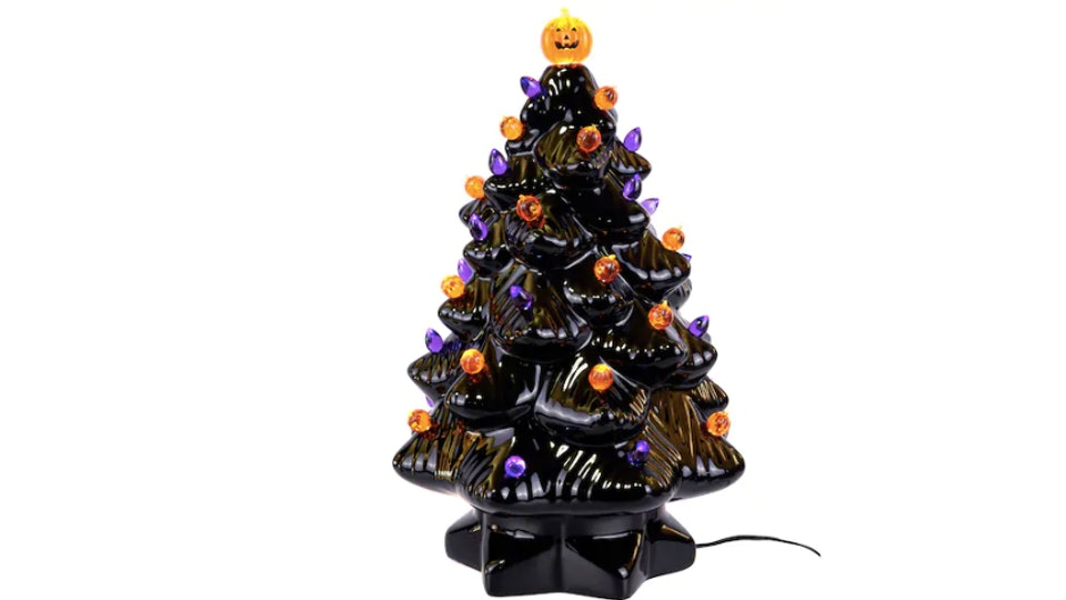 Michaels Christmas Ornaments 2019 Michaels' Ceramic Halloween Christmas Tree Takes Your Decor To A