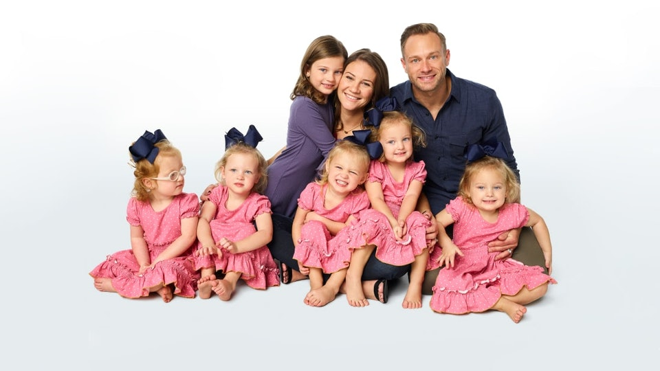 """The Busby Family from TLC's """"OutDaughtered"""""""