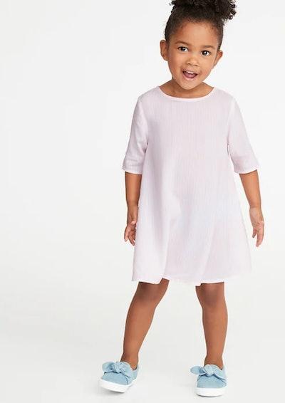 Printed Swing Dress for Toddler Girls