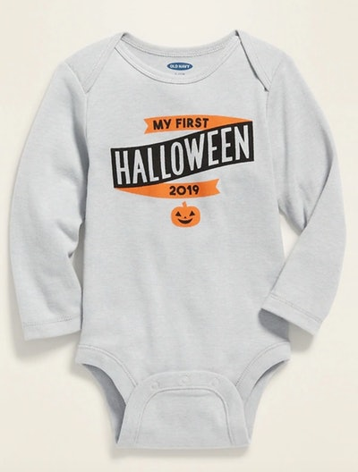 """""""My First Halloween"""" Bodysuit for Baby"""
