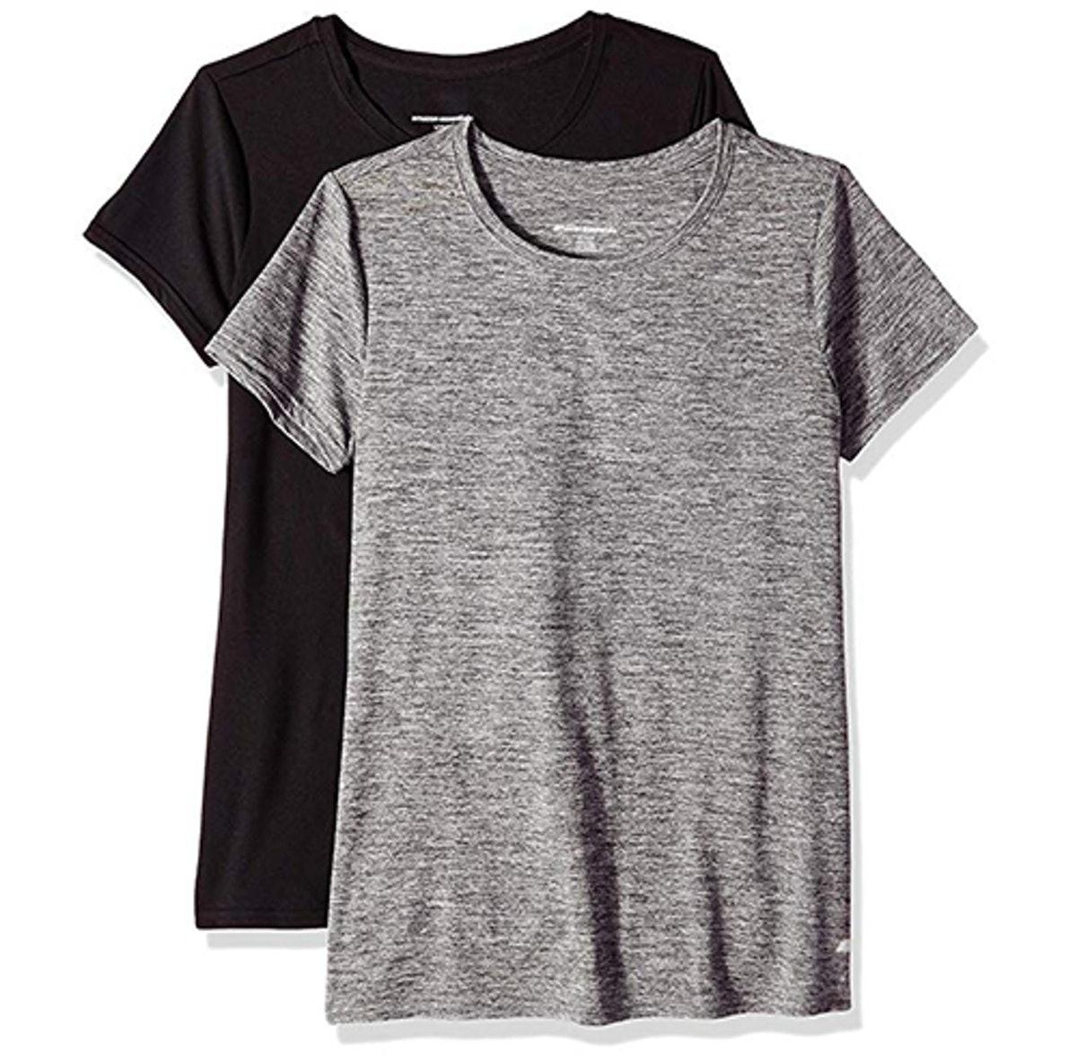 Amazon Essentials Women's 2-Pack Tech T-Shirt