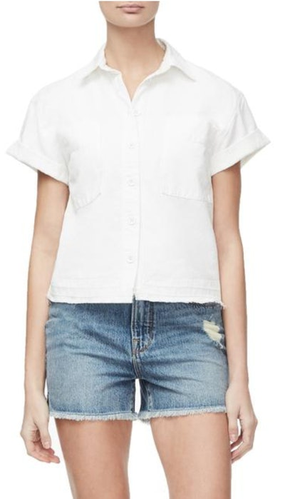 The Boxy Button-Down