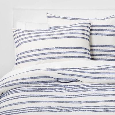 Eyelash Stripe Comforter Set