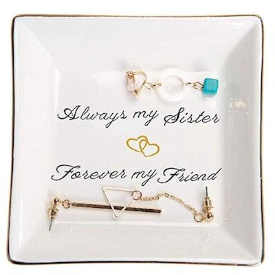 Sister Gifts Trinket Dish