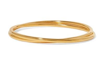 Gold Vermeil Bangls