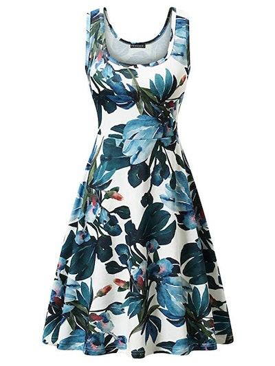 FENSACE Sleeveless Tank Dress