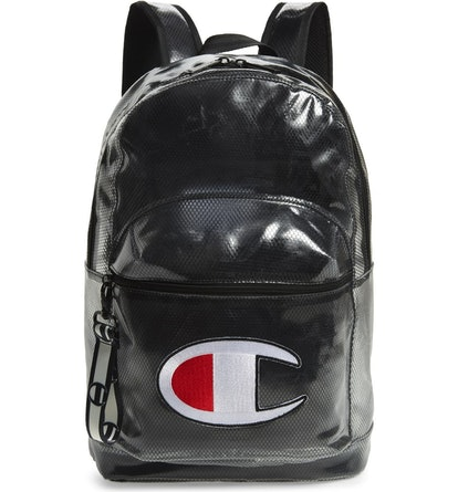 Champion Logo Clear Backpack