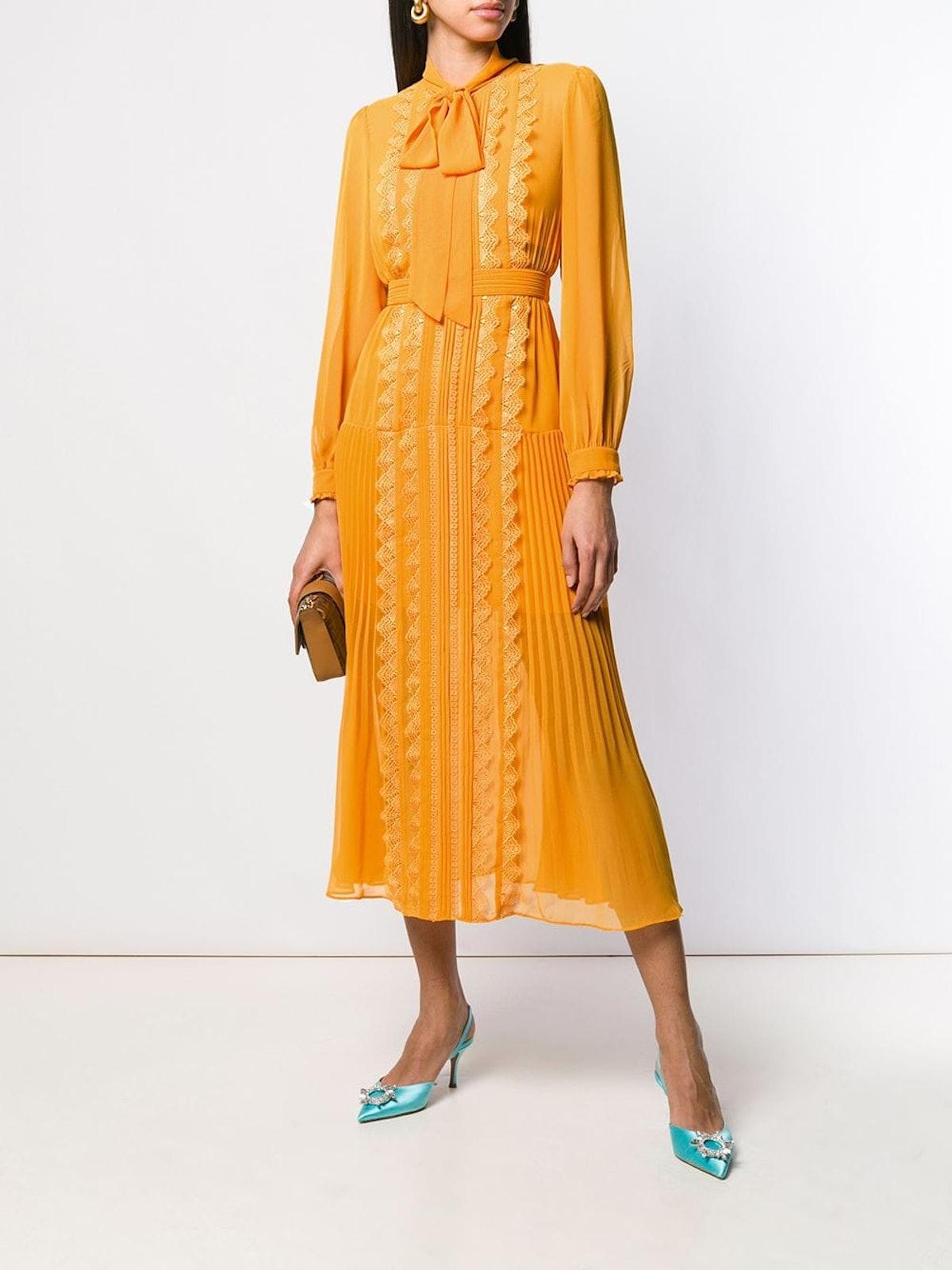 Long-Sleeve Shirt Dress