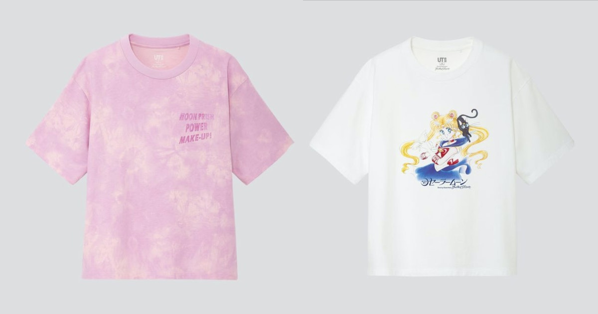 This 'Sailor Moon' x Uniqlo Collaboration Is The Ultimate Throwback To Your Childhood