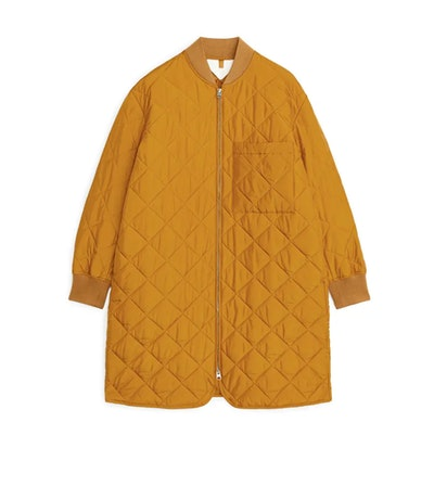 Quilted Long Jacket