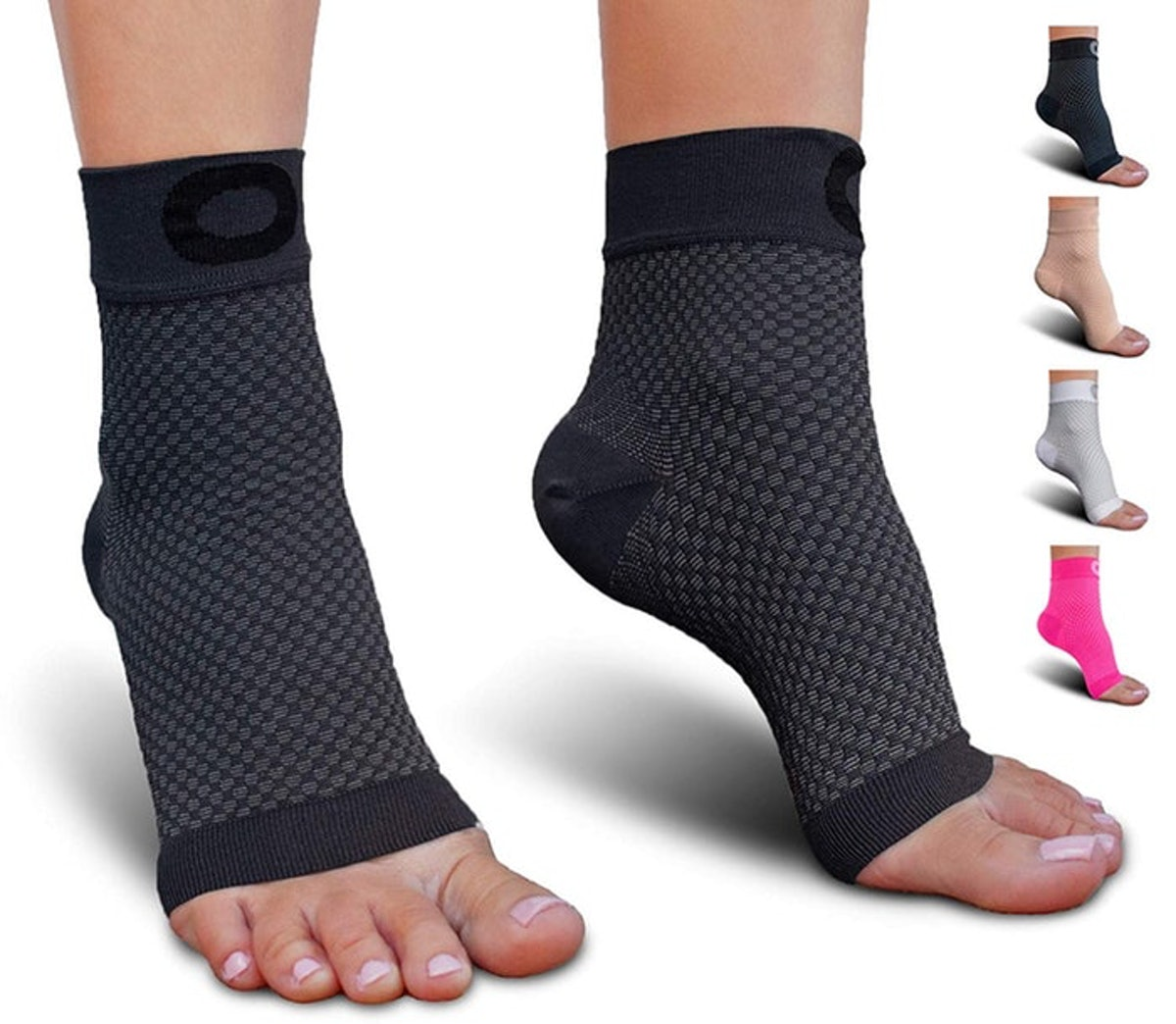 Crucial Compression Foot Support Sleeves