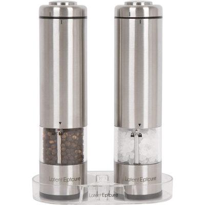 Latent Epicure Salt And Pepper Grinder Set