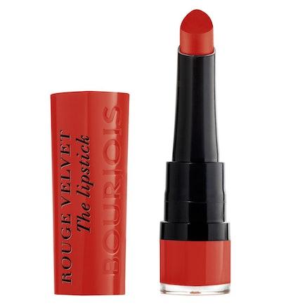 Bourjois Rouge Velvet The Lipstick in Joli Carminois