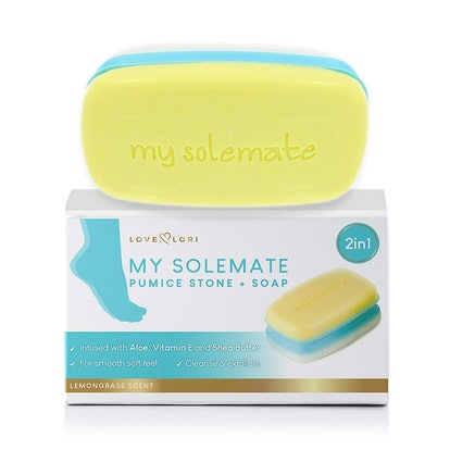 My Solemate Pumice Foot Scrubber With Lemongrass Soap
