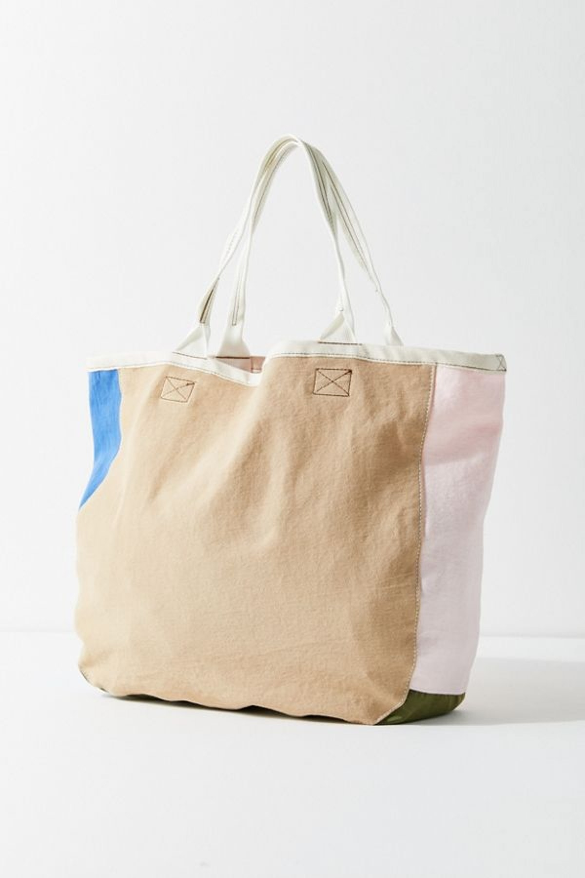 Urban Renewal Remnants Colorblocked Tote Bag