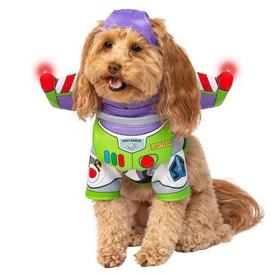 Buzz Lightyear Light-Up Pet Costume by Rubie's