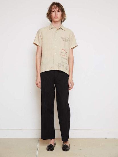 Linen Mill Bowling Shirt