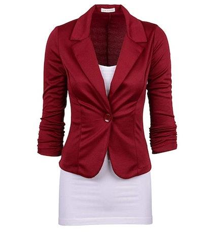 Auliné Collection Color Knit Blazer