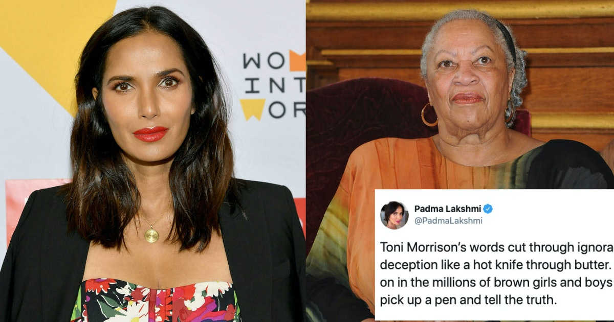 Padma Lakshmi Honored Toni Morrison By Highlighting Her Fight Against Hate & Ignorance — VIDEO