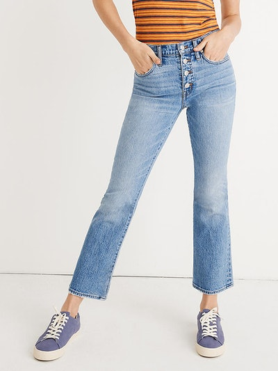Cali Demi-Boot Jeans in Dory Wash