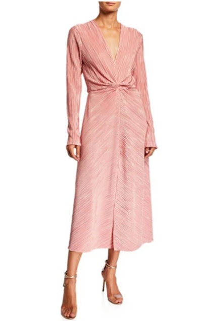 Number 7 Pleated Dress