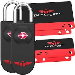 Talonport Keyless Luggage Locks (2-Pack)