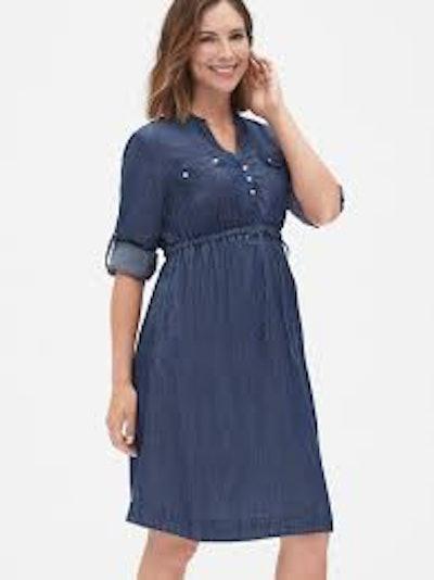 Utility Dress in Tencel