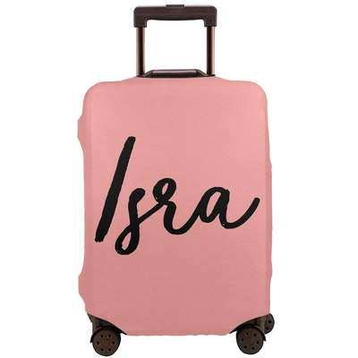 Personalised Name Travel Suitcase Cover Trolley Case