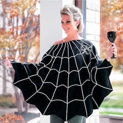 Spiderweb Poncho