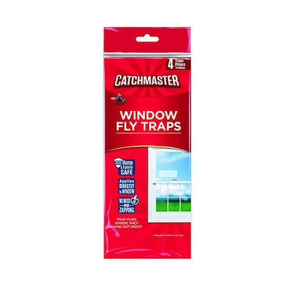 Catchmaster Bug & Fly Clear Window Traps (3 Packs of 4)