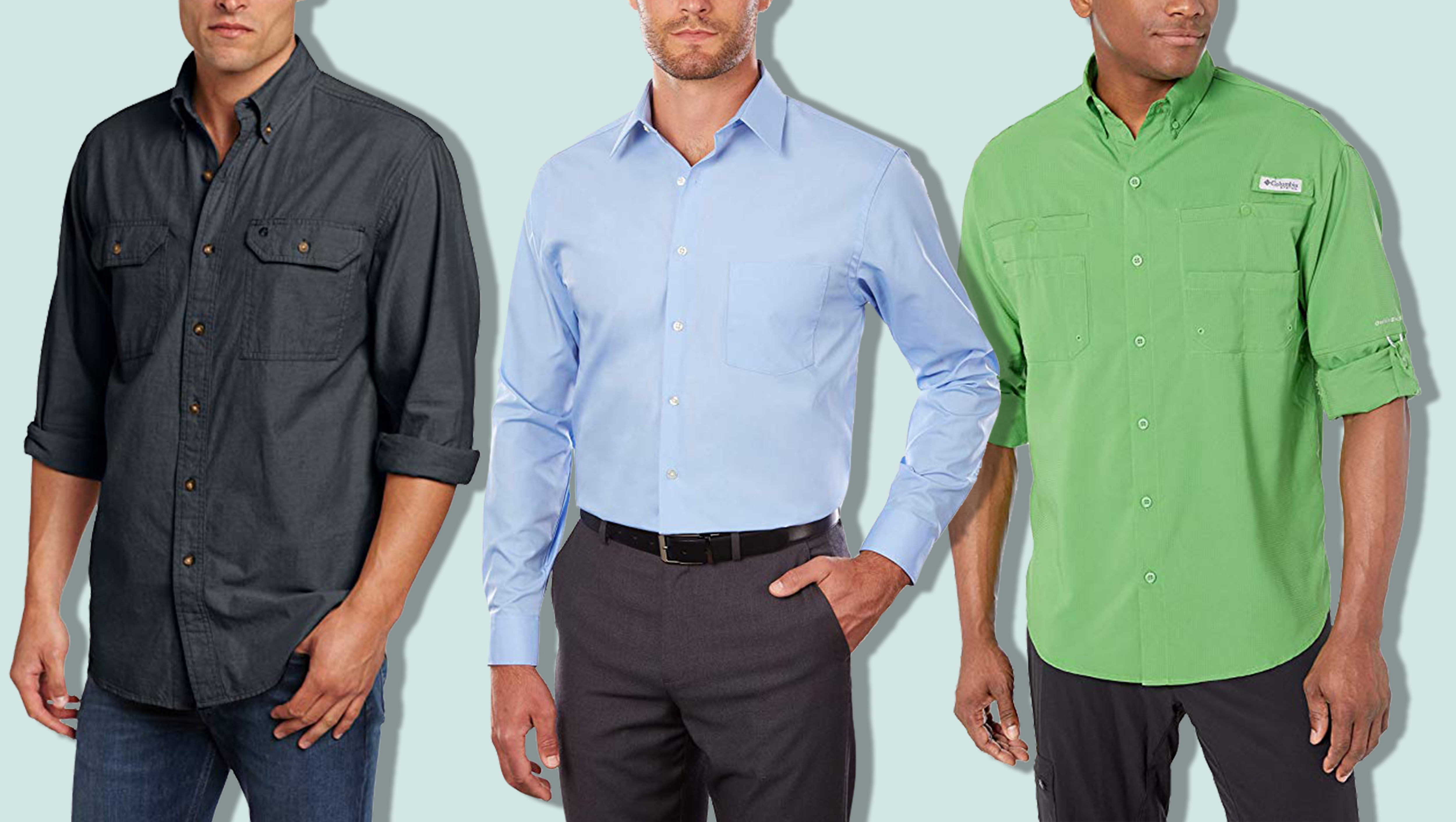 Choose SZ//Color Columbia Men/'s Tamiami II Slim Fit Short Sleeve Shirt