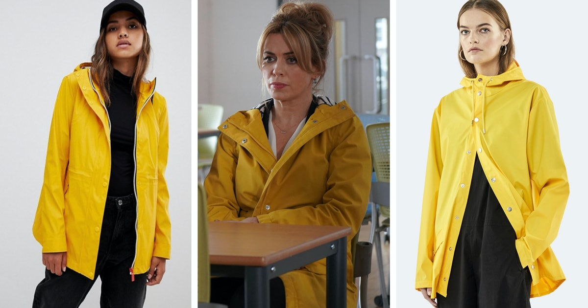 7 'Keeping Faith' Yellow Coat Dupes, Because This Is Still The Most Talked-About Garment On British TV