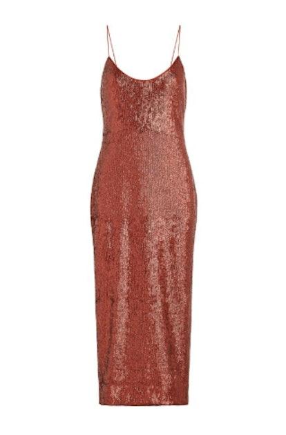 Sistine Fluid Sequin Dress