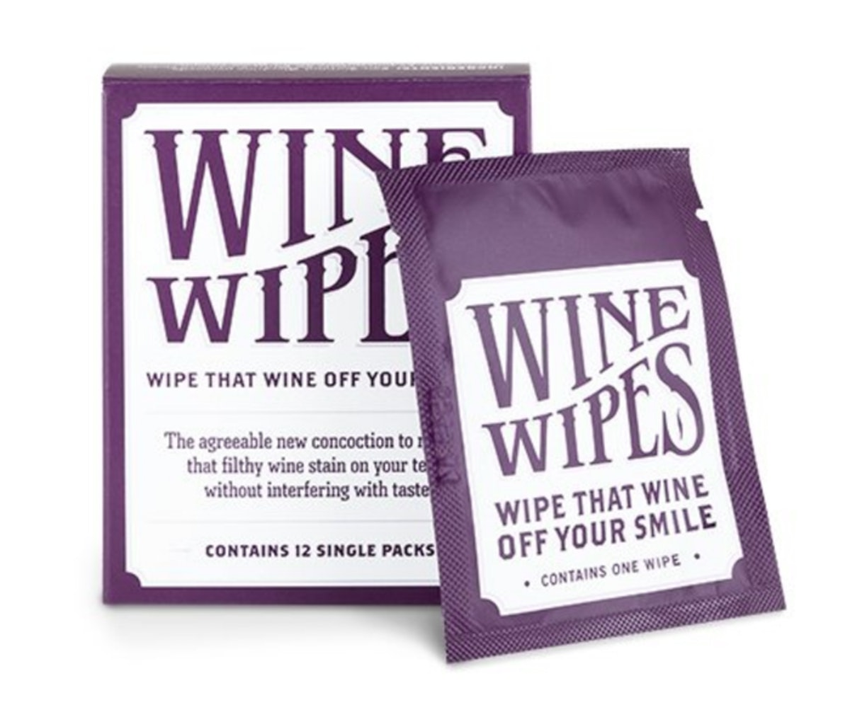 True Wine Stain Removing Wipes (12 Pack)