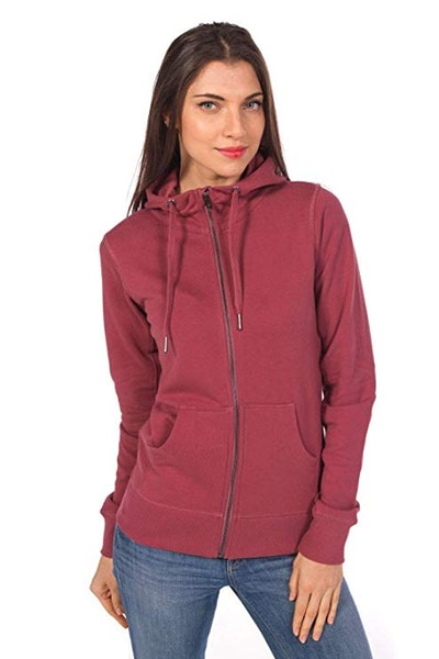 Ably Apparel Hannah Zip-up Cotton Hoodie