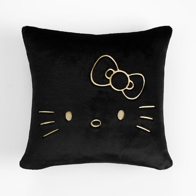 Hello Kitty Faux Fur Pillow Cover