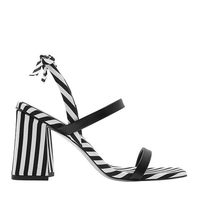 Bow Tie Strappy Sandals