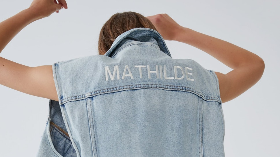Zara's Edited Collection Lets You Add Custom Embroidery To Your New