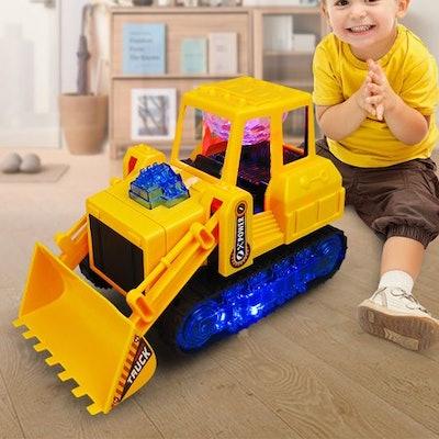 Electric Bulldozer Tractor Truck