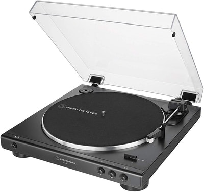AT-LP60X-BK Fully Automatic Belt Drive Stereo Turntable