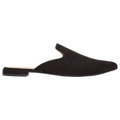 Rohb by Joyce Azria Maison Pointed Toe Flat Slip On Mule