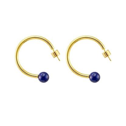 Lane Woods 24-Karat Gold Plated Earring
