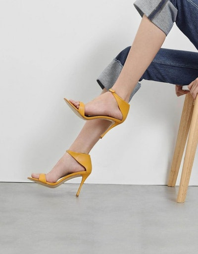Front Buckle Heels