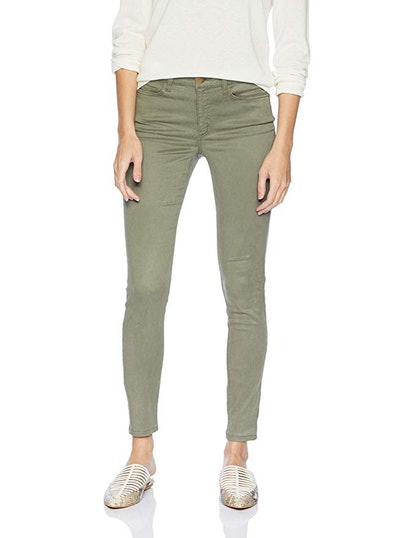 Daily Ritual Women's Sateen 5-Pocket Skinny Pant